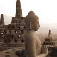 Arca budha candi Borobudur
