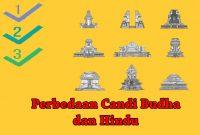 Perbedaan Candi Budha dan Hindu